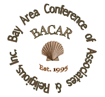 BACAR logo with a shell in the middle